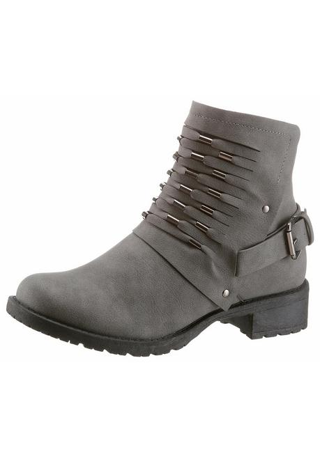 CITY WALK Bikerboots - grau - 40