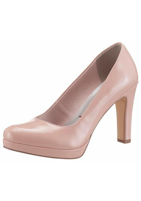 Tamaris High-Heel-Pumps - Lack rosé - 40