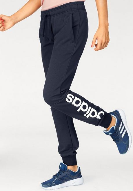 adidas Performance Jogginghose »ESSENTIALS LINEAR PANT« - marine - L